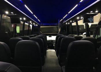 28 PASSENGER MINIBUS interior 1