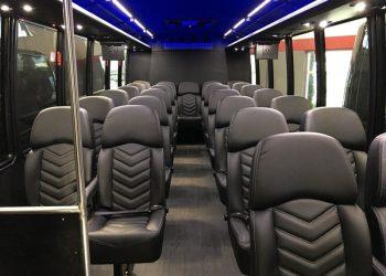 28 PASSENGER MINIBUS interior 2