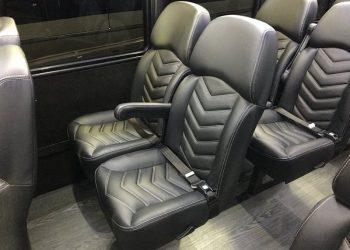 28 PASSENGER MINIBUS interior 3