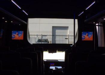 28 PASSENGER MINIBUS interior 4