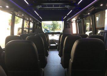 28 PASSENGER MINIBUS interior 5